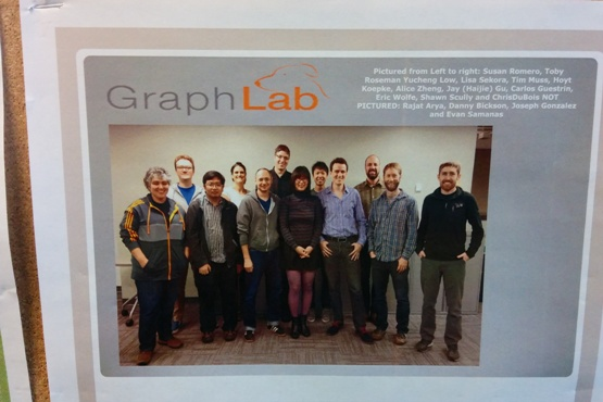 GraphLab poster in NVF