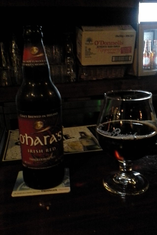 Sampling the O'Hara's inventory. It was a long night. (Image: Gregory T. Huang)