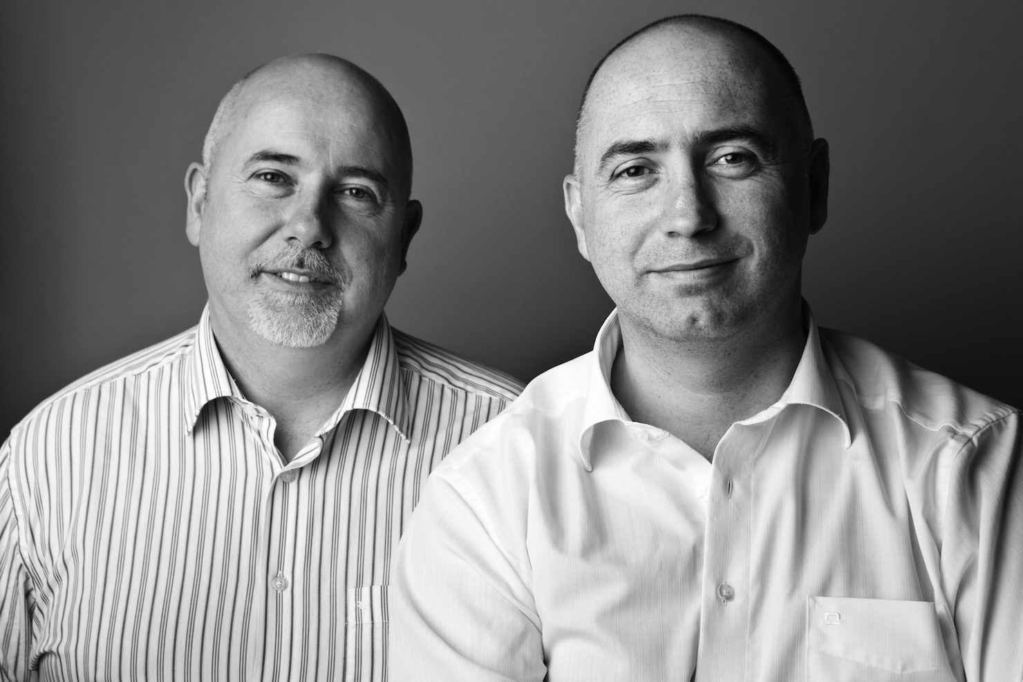 Mcor Technologies co-founders Fintan MacCormack (left) and Conor MacCormack