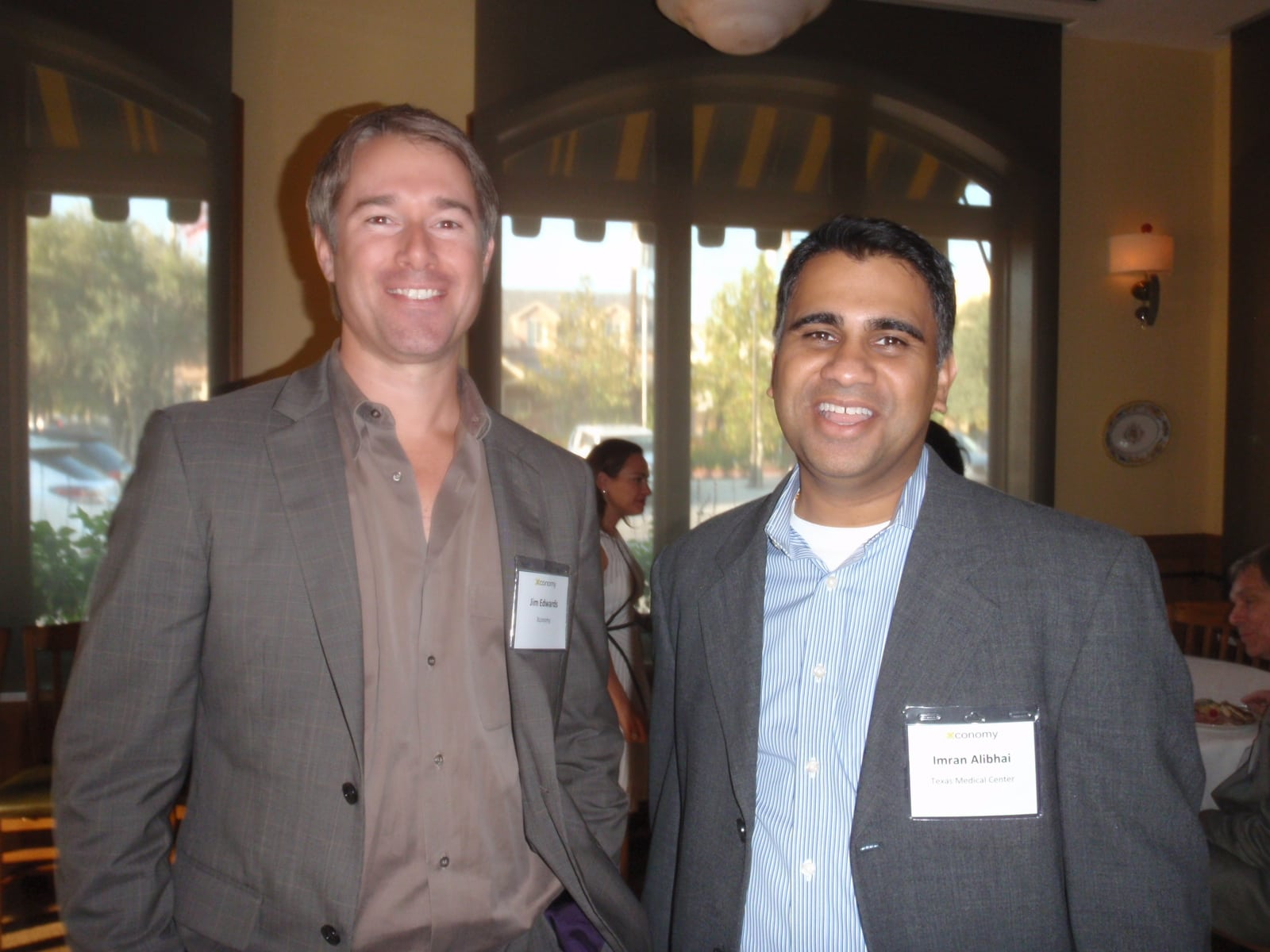 Jim Edwards, Imran Alibhai