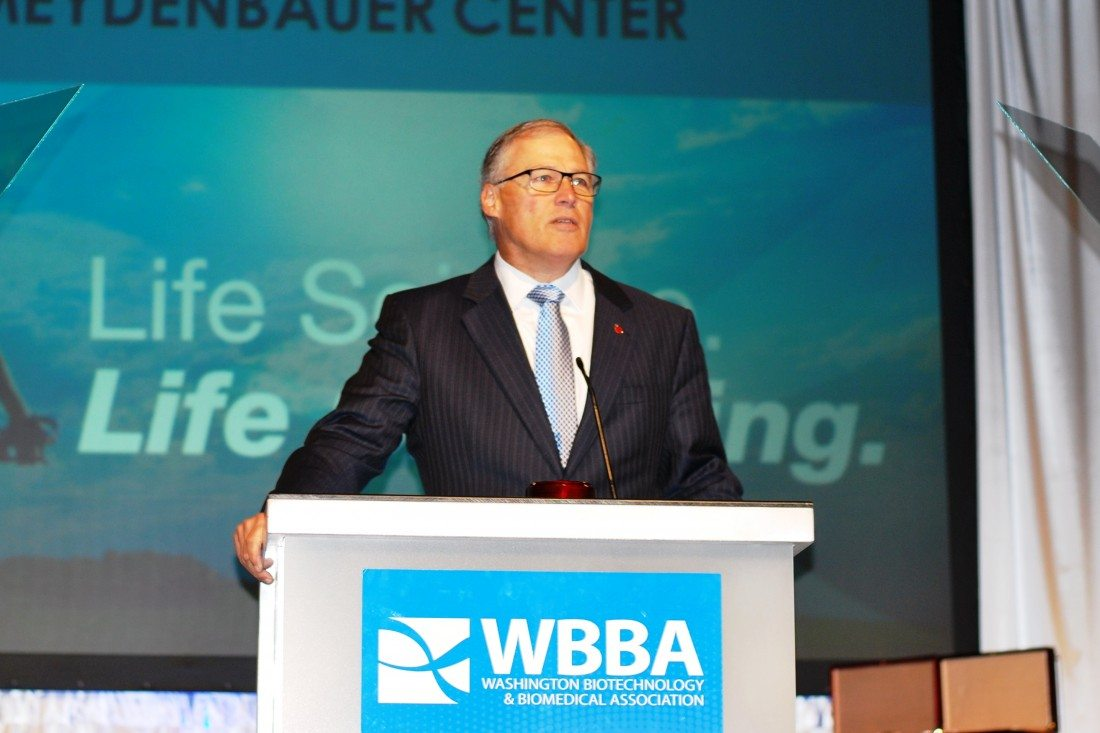 Q&A: WA Gov. Inslee on Education, Life Sciences, Climate, R&D
