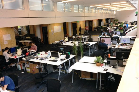 startup hall wide