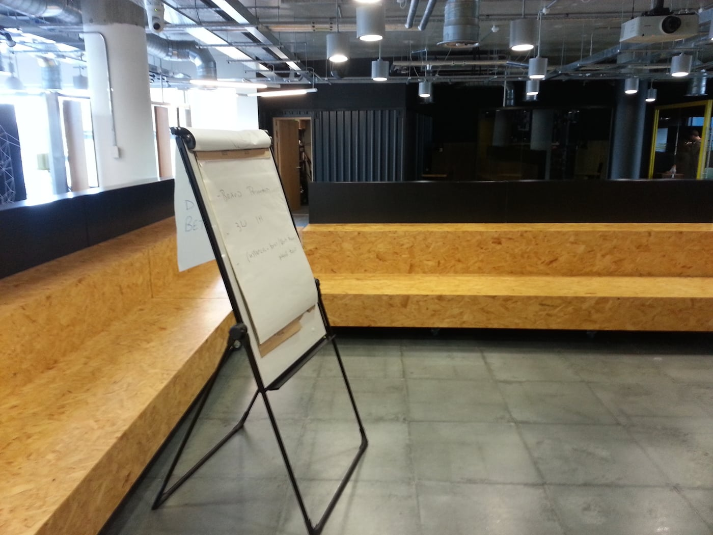 Wayra meeting area