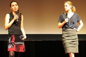 Co-founders Berry and Zaleski at NYTM.
