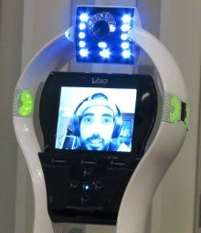VGo brought its telepresence robot to to the Verizon Innovation Program. (photo by João-Pierre S. Ruth)
