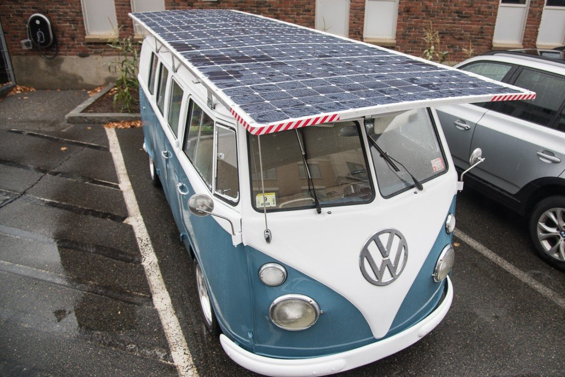 Vecna CTO Builds Solar-Powered Volkswagen Bus—And it Actually Works