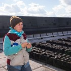Courtney on roof thumbnail