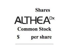AltheaDx, with Personalized Medicine Diagnostics, Files for IPO