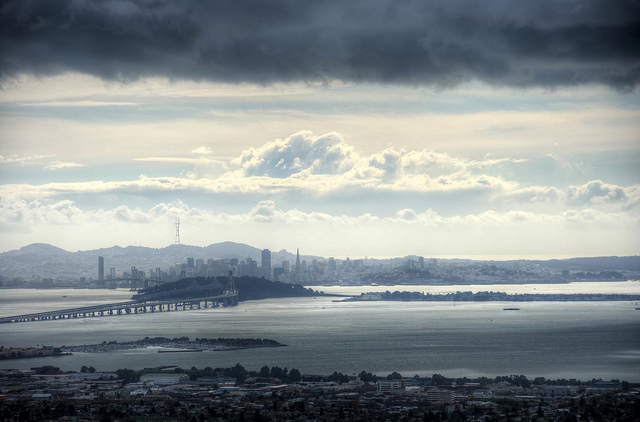 Storm Clouds Over San Francisco