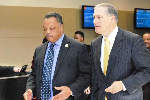 Inslee, Jackson, and New Report on Washington's STEM Skills Shortfall