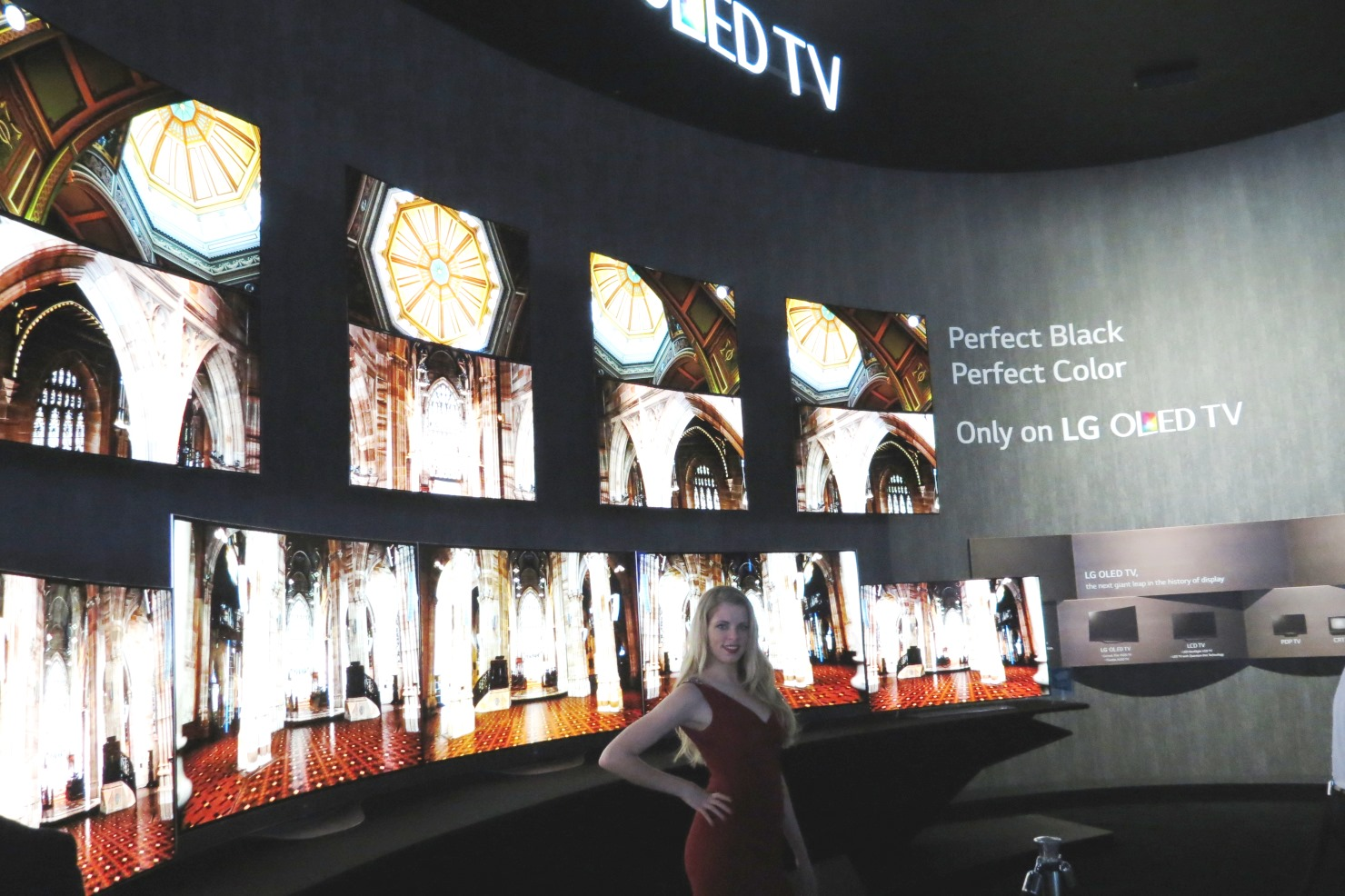 LG OLED 4K televisions