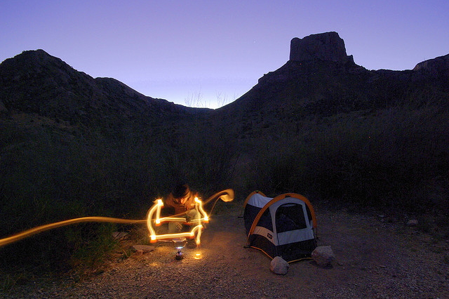 Camping at Big Bend