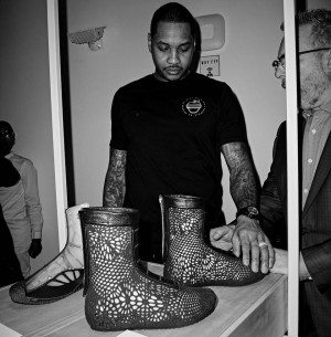 NBA star Carmelo Anthony backed SOLS through Melo7 Tech partners.