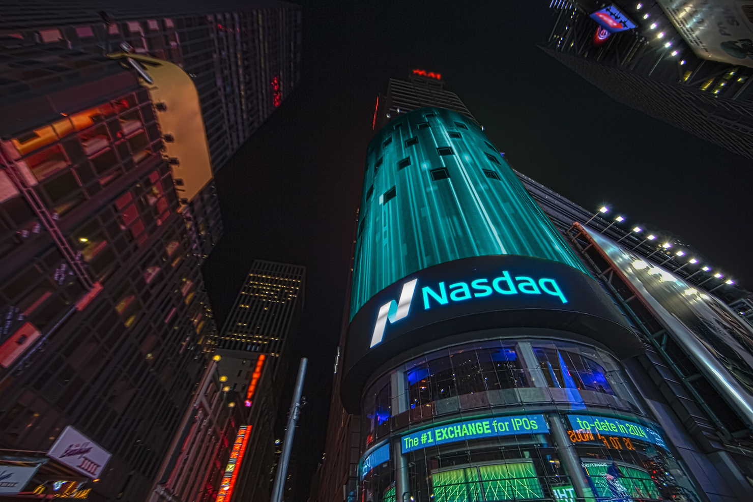 Nasdaq Tower Nasdaq (Used with Permission Copyright 2014 NASDAQ OMX Group)