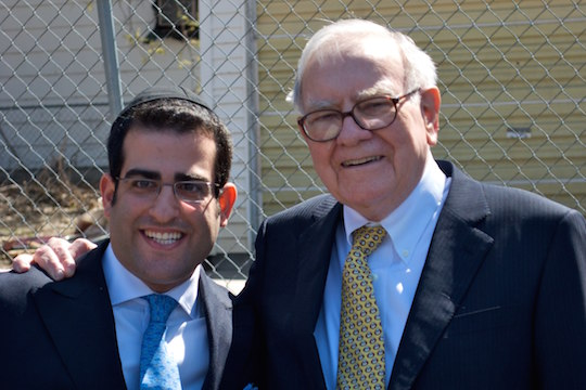 Natanel Barookhian and Warren Buffett