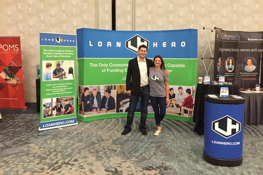 LoanHero founders Derek Barclay and Kristin Slink (used with permission)