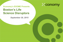 Agenda Posted for Boston's Life Science Disruptors on Sept. 30