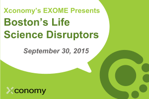 Hear the Synlogic Story at Boston's Life Science Disruptors Sept. 30