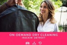 DRYV Offers Detroiters On-Demand Dry-Cleaning and Delivery