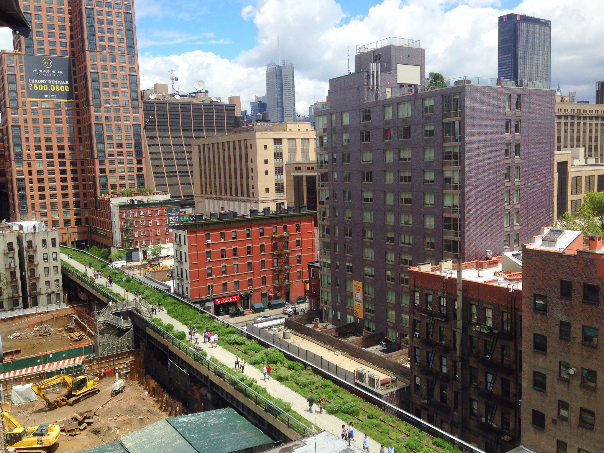 The High Line, stock image
