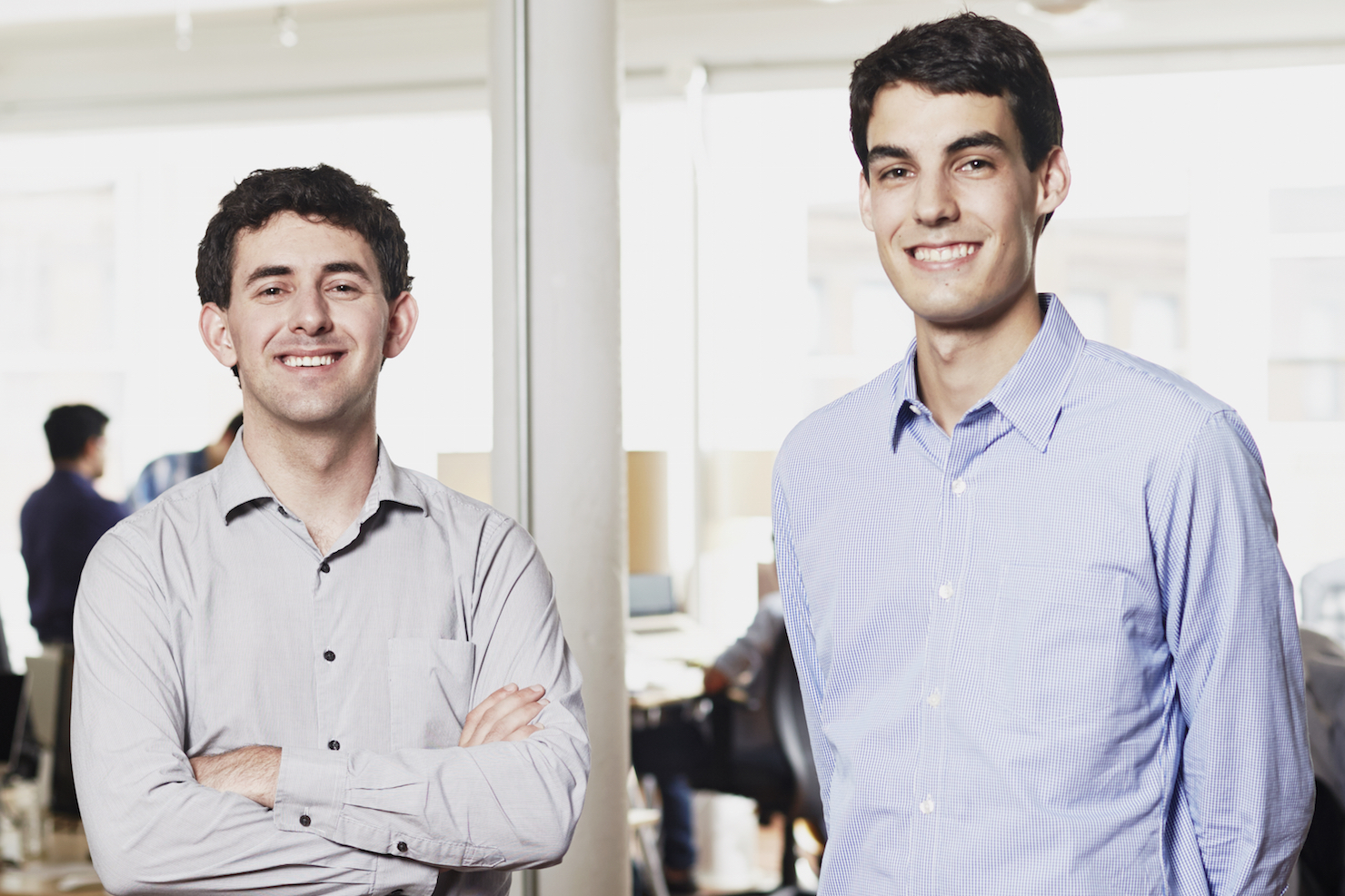 Panorama co-founders Aaron Feuer and Xan Tanner