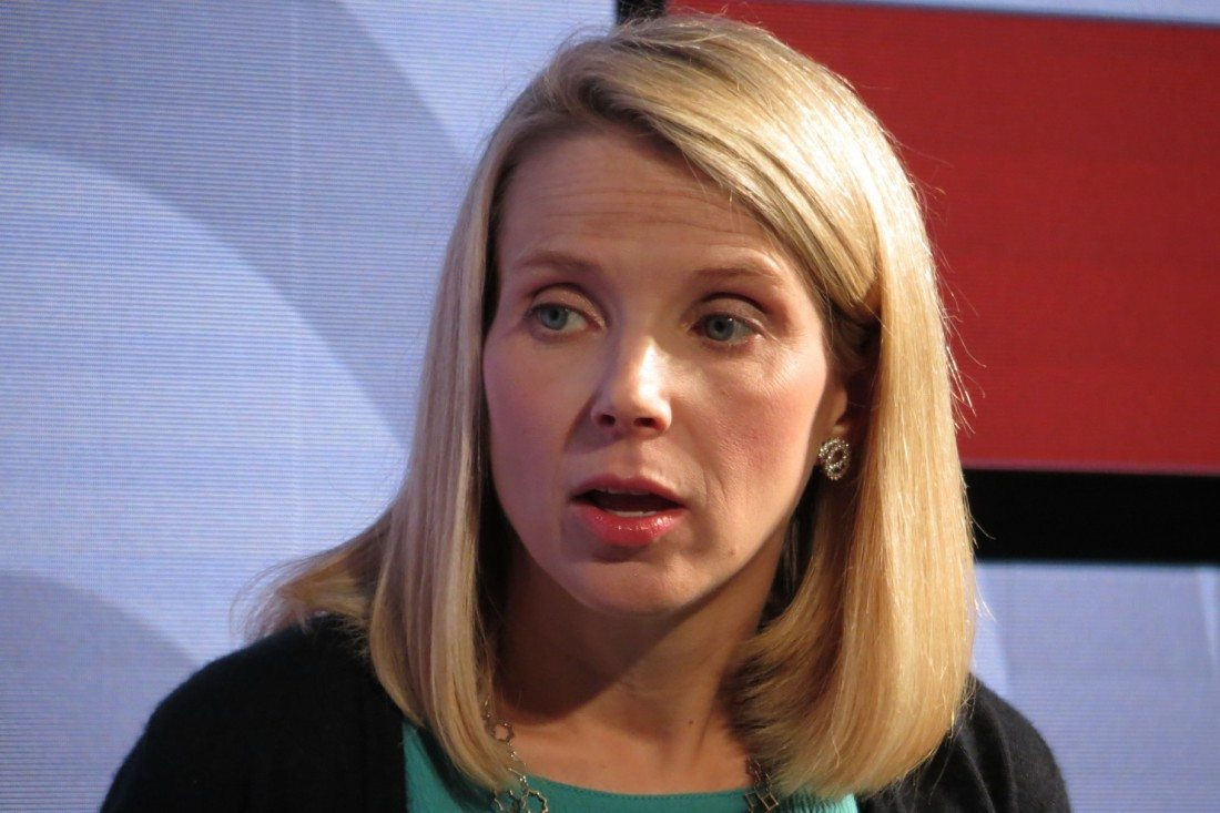 Marissa Mayer Puts on Game Face, Talks Up Yahoo's Next Plays