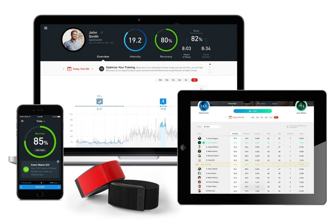 Whoop Wearable Brings 24/7 Performance Tracking to Elite Athletes