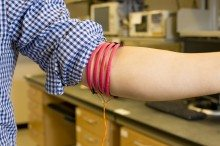 New Technique for Wearable Sensors Transmits Signal Through Body