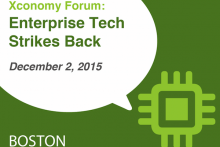 Enterprise Tech Strikes Back on Dec. 2 in Boston