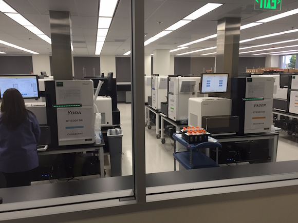 Health Nucleus has access to HLI's 24 HiSeqX genome sequencing machines