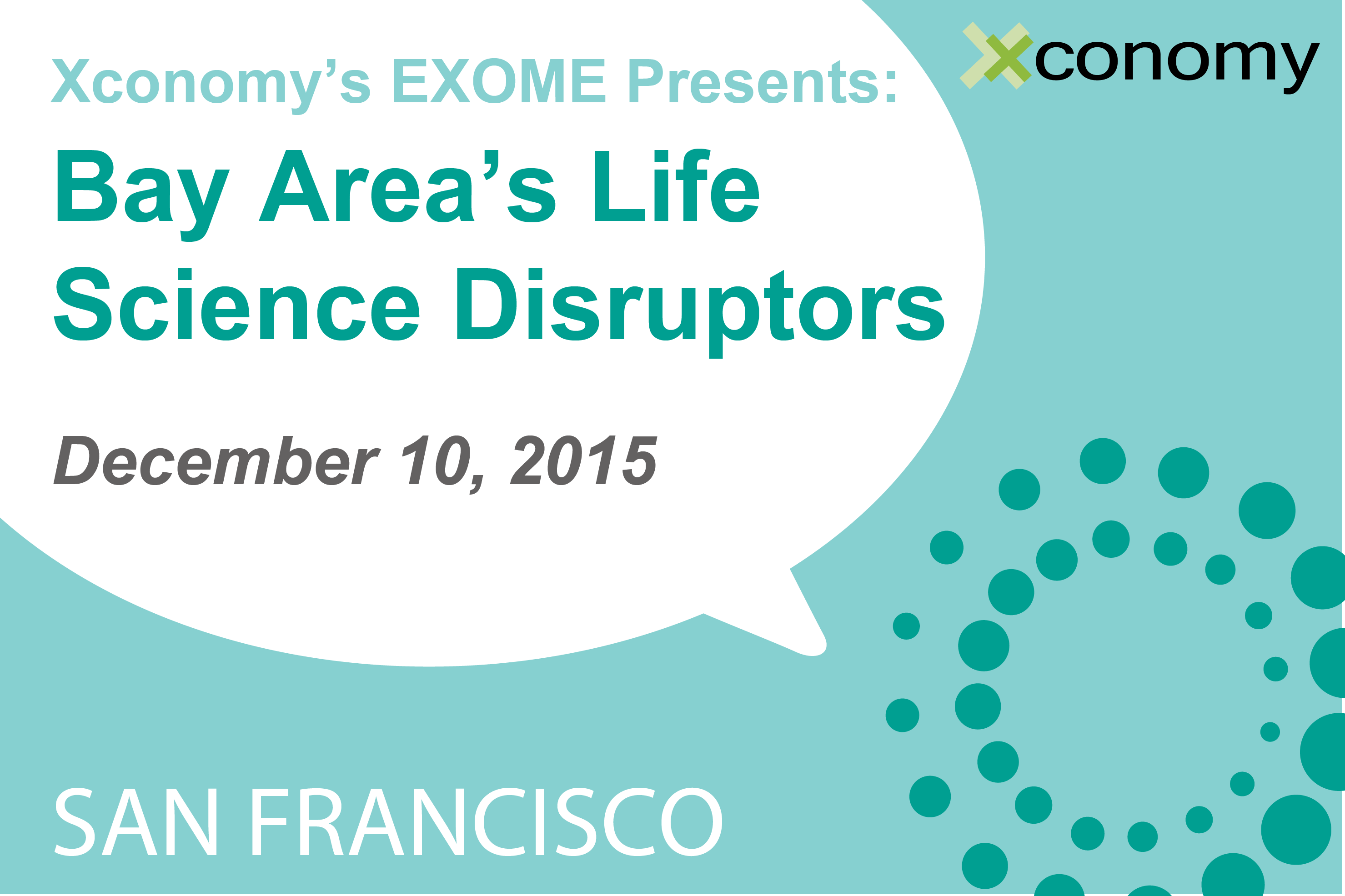 Bay Area's Life Science Disruptors