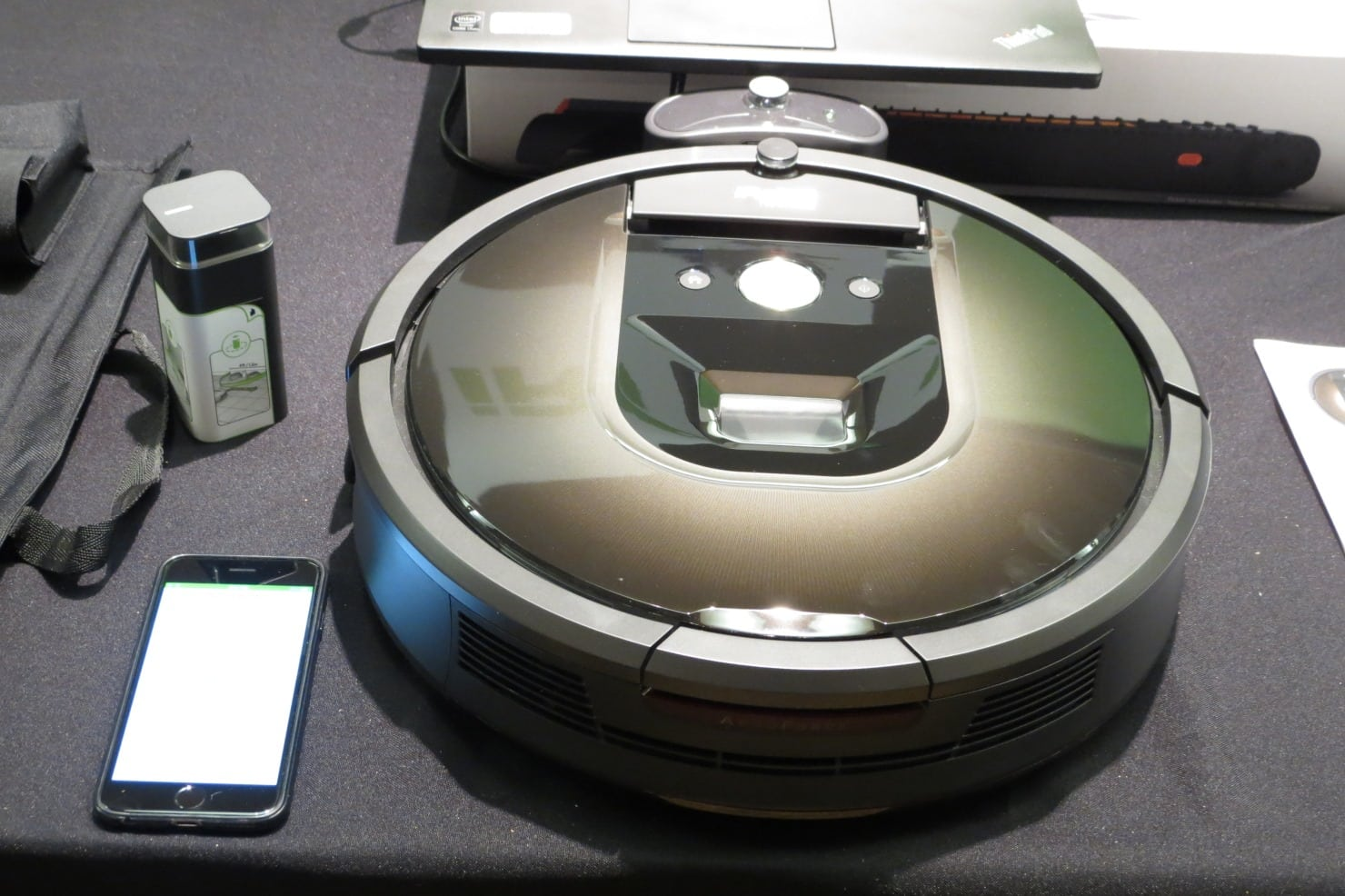 IRobot, Bissell, & the Robot Vacuum Wars Come to Pepcom Gadget Show