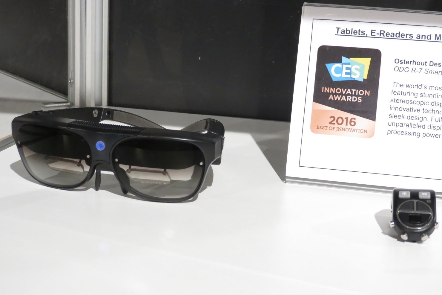 Smart Glasses for a New View on Computing