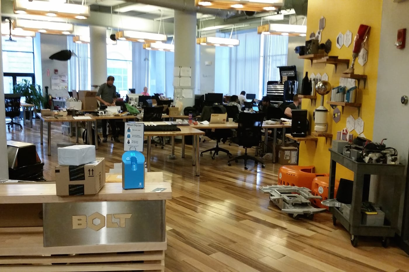Bolt's Boston office
