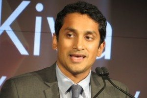 Premal Shah, president and co-founder of Kiva (photo by Joao-Pierre S. Ruth).