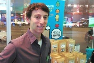 Josh Wessler, CEO of Fresh Routes (photo by Joao-Pierre S. Ruth).