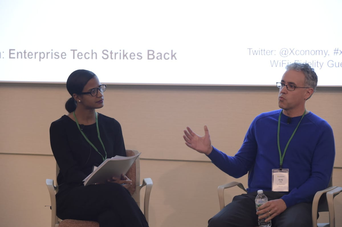 Enterprise Tech Strikes Back: Photos and Takeaways