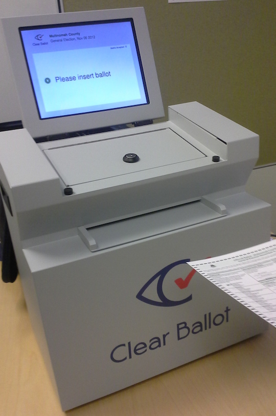 Clear Ballot's ClearCast voting product