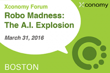 Drones, Bots & More at Robo Madness: The A.I. Explosion, 3/31