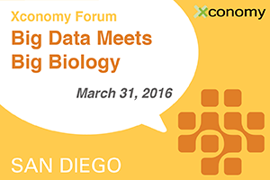 Xconomy Forum: Big Data Meets Big Biology