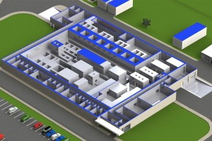 Rendering of Shine's manufacturing facility