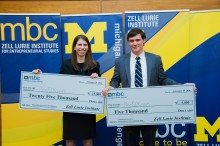 Student-Led Startups Take Center Stage at U-M Business Competition