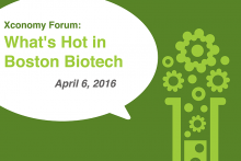 Viehbacher, Sharp & More at What's Hot in Boston Biotech on April 6