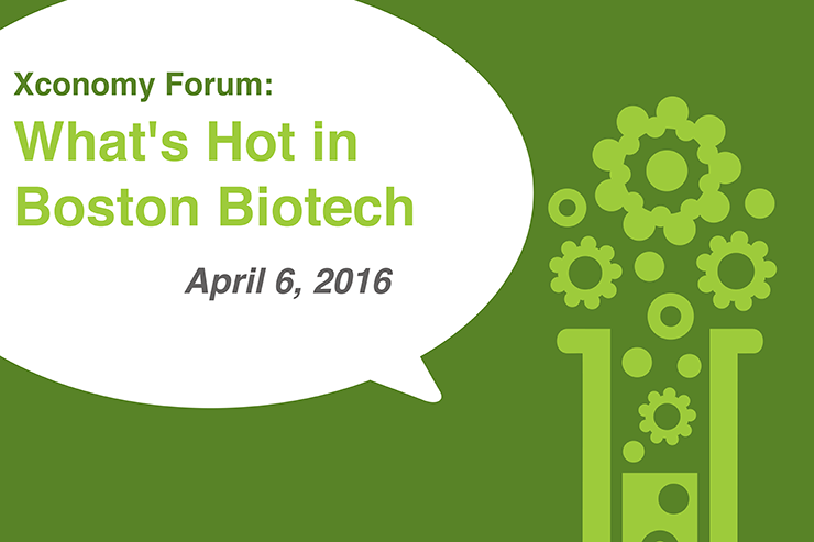 "Gerngross, Singer Join ""What's Hot in Boston Biotech"" on April 6"