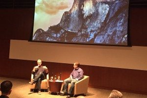 Mark Bowles (left) and Eric Otterson of Silicon Valley Bank at MIT Enterprise Forum