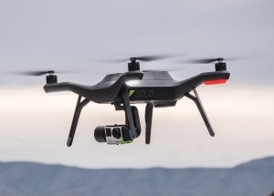 3DR Solo quadcopter (Source: 3DR media kit photo)