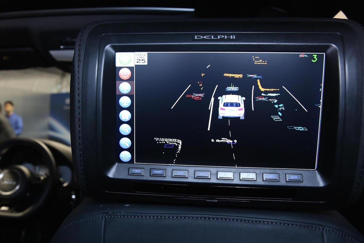 Automated Driving Display (Delphi Automotive)
