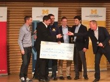 Woodside Distributors Crowned Champion of U-M Startup Competition