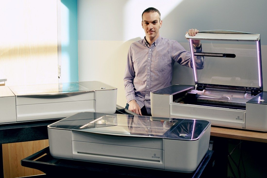 Glowforge Raises $22M to Grow Laser Cutter Business