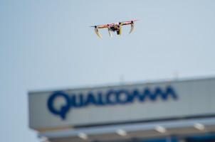 Drone equipped with Qualcomm technology (Qualcomm photo used with permission)